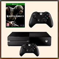 Pack : Xbox One + Mortal Kombat X + 2e Manette